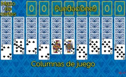 Como jugar a Spider 1 Suit y Reglas de Spider 1 Suit en Solitaire Collection