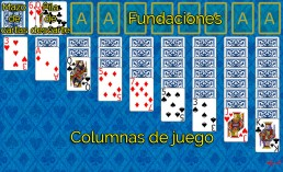 Como jugar a Double Klondike y Reglas de Double Klondike en Solitaire Collection