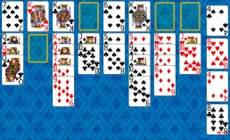 Eight Off Solitaire during the game in Solitaire Collection