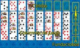 Como jugar a Eight Off y Reglas de Eight Off en Solitaire Collection