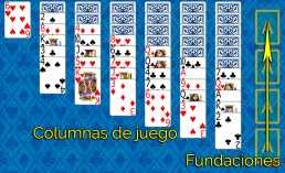 Como jugar a Yukon y Reglas de Yukon en Solitaire Collection