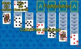 Como jugar a Klondike y Reglas de Klondike en Solitaire Collection