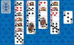 Aces Up Solitaire during the game in Solitaire Collection
