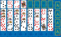 Eight Off Solitaire at the beginning in Solitaire Collection