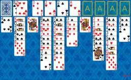 Lady Jane Solitaire during the game in Solitaire Collection